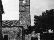 Crkva sv. Jurja 1953. godine, Plomin. (fn. 2157) Iz arhive Arheološkog muzeja Istre
