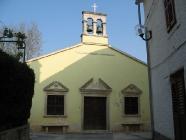 Pročelje crkve Svete Foške, Pomer. Autor: Aldo Šuran (2007.)