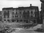 Dekumanska ulica, stambena arhitektura prije obnove 1952. godine, Poreč. (fn. 929) Iz arhive Arheološkog muzeja Istre