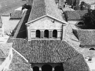 Eufrazijeva bazilika u drugoj polovici 60-ih godina, Poreč. (fp. 8287) Iz arhive Arheološkog muzeja Istre