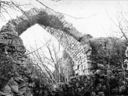 Ruševine crkve sv. Teodora kod raklja 1974. godine, Rakalj. (fn. 13484) Iz arhive Arheološkog muzeja Istre