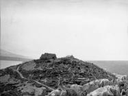 Pogled na stari kaštel sredinom 60-ih godina, Rakalj. (bn. 6484) Iz arhive Arheološkog muzeja Istre