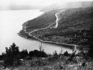 Pogled na uvalu Blaz kod Raklja 1973. godine, Rakalj. (fn. 15535) Iz arhive Arheološkog muzeja Istre