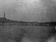 Pogled na Rovinj početkom 50-ih godina, Rovinj. (fn. 1526 a) Iz arhive Arheološkog muzeja Istre