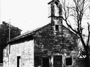 Crkva sv. Antuna opata 1973. godine, Savičenta. (fn. 12011) Iz arhive Arheološkog muzeja Istre