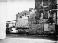 Porušena lođa u Savičenti 1973. godine, Savičenta. (fn. 12010) Iz arhive Arheološkog muzeja Istre