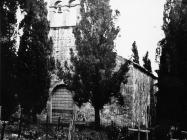 Crkva sv. Vincenca na groblju u Savičenti 1956. godine, Savičenta. (fn. 4510) Iz arhive Arheološkog muzeja Istre