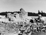 Kaštel Sipar, ostaci kule sa zapada 1996. godine, Umag. (fn 28927) Iz arhive Arheološkog muzeja Istre