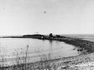 Kaštel Sipar, ostaci kule sa zapada 1996. godine, Umag. (fn. 28924.) Iz arhive Arheološkog muzeja Istre
