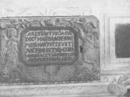 Vratašca kustodije u župnoj crkvi Sv. Feliksa i Fortunata sredinom 50-ih godina, Šišan. (fn. 3561) Iz arhive Arheološkog muzeja Istre