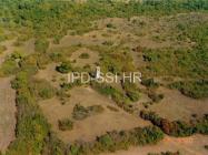 Zračna snimka lokaliteta Turnina 2000. godine, Gajana. (fn. 40086) Iz arhive Arheološkog muzeja Istre