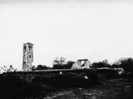 Crkva sv. Ivana evanđelista 1972. godine, Gajana. (fn. 11528) Iz arhive Arheološkog muzeja Istre