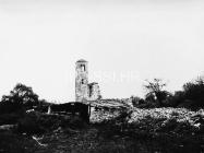 Crkva sv. Ivana evanđelista 1972. godine, Gajana. (fn. 11529) Iz arhive Arheološkog muzeja Istre