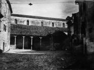 Loža i crkva sv. Martina krajem 40-ih godina, Sveti Lovreč. (fn. 896) Iz arhive Arheološkog muzeja Istre
