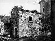 Romanička kuća sredinom 60-ih godina, Sveti Lovreč. (bn. 7526) Iz arhive Arheološkog muzeja Istre