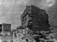 Trokutasta kula početkom 50-ih godina, Sveti Lovreč. (fn. 1168) Iz arhive Arheološkog muzeja Istre