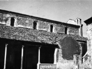 Crkva sv. Martina 1968. godine, Sveti Lovreč. (bn. 8733) Iz arhive Arheološkog muzeja Istre