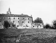 Pavlinski samostan u Svetom Petru u šumi 1973. godine, Sveti Petar u šumi. (fn. 12025b) Iz arhive Arheološkog muzeja Istre