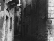 Ulica u Umagu sredinom 60-ih godina, Umag. (fn. 7871) Iz arhive Arheološkog muzeja Istre