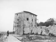 Pogled na kulu u Umagu sa zapadne strane 1972. godine, Umag (fn. 11755.) Iz arhive Arheološkog muzeja Istre