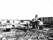 Gradilište hotela Kristal 1969. godine, Umag.(bn 10345.) Iz arhive Arheološkog muzeja Istre