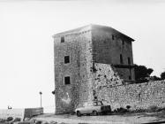 Pogled na kulu 80-ih godina, Umag. (fn. 18857.) Iz arhive Arheološkog muzeja Istre