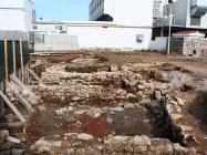 Arheološko nalazište pored gradskih zidina. Umag. Autor: Aldo Šuran (2010.)