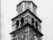 Zvonik crkva sv. Kvirika i Julite u Višnjanu 1978. godine, Višnjan. (fn.16194) Iz arhive Arheološkog muzeja Istre