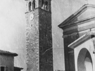 Zvonik u Vižinadi 1952. godine, Vižinada. (fn. 1158) Iz arhive Arheološkog muzeja Istre