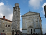 Crkva Svetog Jeronima, izgrađena 1837., Vižinada. Autor: Aldo Šuran (2007.)