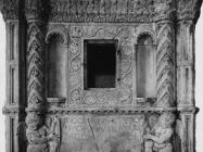 Kustodija u crkvi sv. Blaža iz 1451. snimljeno početkom 50-ih godina, Vodnjan. (fp. 509) Iz arhive Arheološkog muzeja Istre