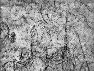 Freske i prikazi brodovlja u crkvi sv. Nedjelje u Vodnjanu 1992. godine, Vodnjan. (fn. 26011) Iz arhive Arheološkog muzeja Istre