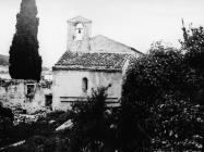 Bazilika sv. Marije u Vrsaru 1975. godine, Vrsar. (bn. 14020) Iz arhive Arheološkog muzeja Istre