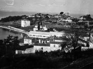 Pogled na baziliku sv. Marije u Vrsaru početkom 60-ih godina, Vrsar. (bn. 6743) Iz arhive Arheološkog muzeja Istre