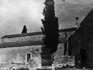 Bazilika sv. Marije u Vrsaru početkom 50-ih godina, Vrsar. (fn. 1115) Iz arhive Arheološkog muzeja Istre