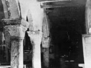 Desni brod u bazilici sv. Marije u Vrsaru početkom 50-ih godina, Vrsar. (fn. 1118) Iz arhive Arheološkog muzeja Istre