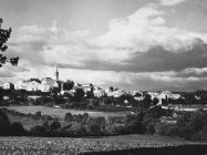 Pogled na Žminj, Žminj. (fn. 11329) Iz arhive Arheološkog muzeja Istre