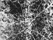 Zračni snimak, Žminj. (fn. 22596) Iz arhive Arheološkog muzeja Istre