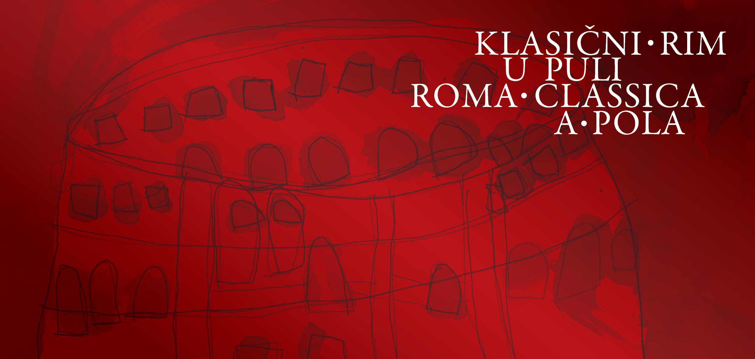 Pozivnica klasicni rim u puli 2014