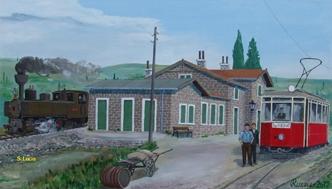 Željeznička postaja u Luciji